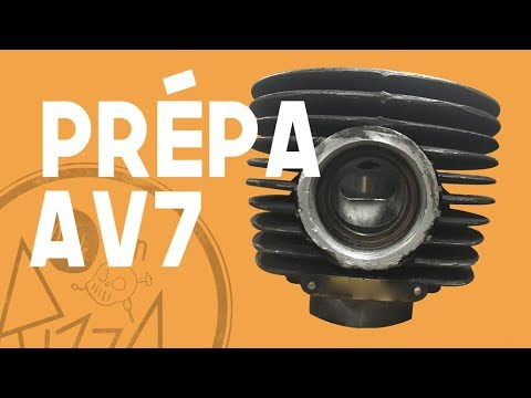 Préparation / Montage Moteur AV7