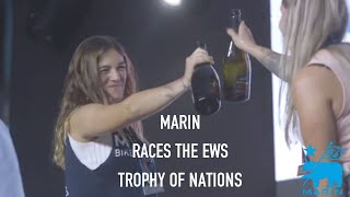Marin race the Trophy of Nations