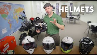How to Choose a Motorcycle Helmet for Adventure Travel