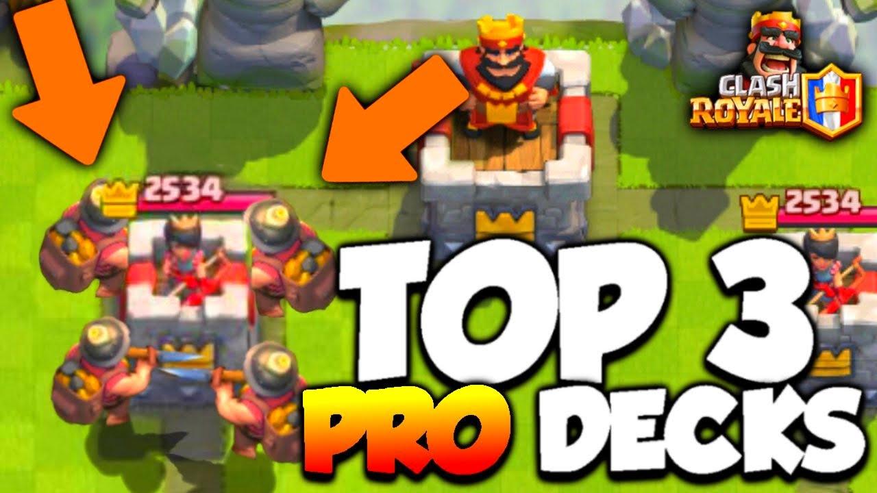 Clash royale top 3 meilleur deck pro ar ne 4 5 6 7 8 for Meilleur deck arene 4