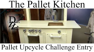 The Pallet-kitchen - Pallet Upcycle Contest Entry