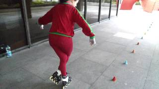 freestyle slalom skating - cobra tutorial