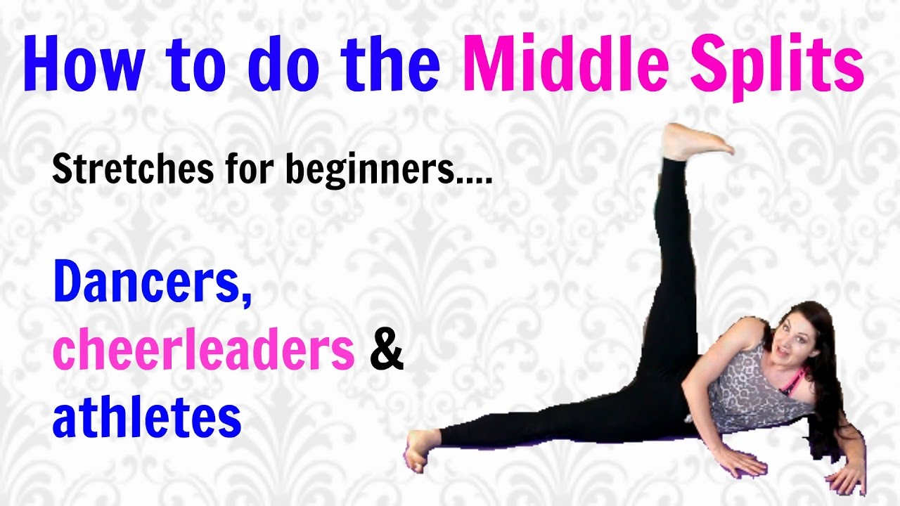 inflexible person. how to get your middle splits for inflexible beginners, dancers \u0026 athletes person l