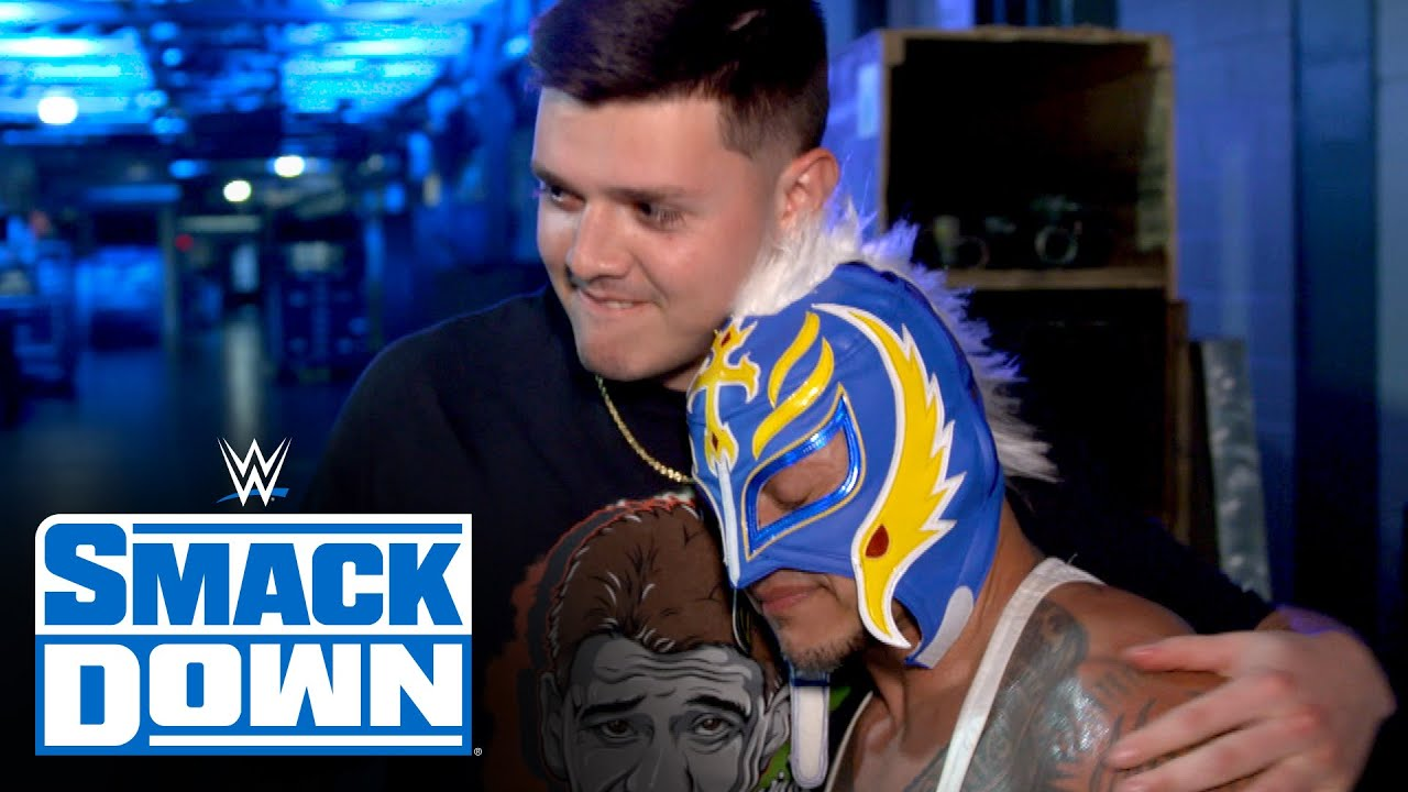 Rey Mysterio dreams of sharing tag team gold with his son: SmackDown Exclusive, March 26, 2021