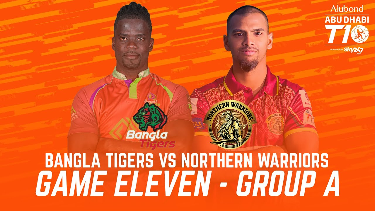 Download Match 11 HIGHLIGHTS I Bangla Tigers vs Northern Warriors I Day 4 I Abu Dhabi T10 I Season 4