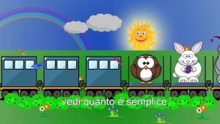 Canzone dell'ABC - Italienisch lernen mit Kinderliedern - Yleekids