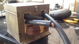 Tự chế máy hàn bấm, hàn cell pin (homemade spot welder)