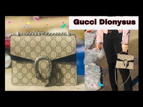 1e7a8deb8 🔥รีวิวกระเป๋ากุชชี่  Review Gucci Dionysus GG Mini Bag  What fits inside?   Soe Mayer