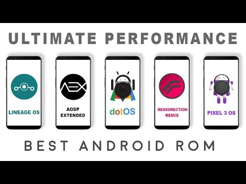 Lineage os vs Resurrection Remix vs Dot os vs Aosp Extended Aex vs Pixel 3 os  - Performance Test