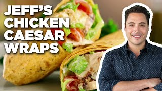 Grilled Chicken Caesar Wraps with Jeff Mauro | Food Network