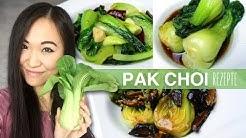 REZEPT: Pak Choi zubereiten auf chinesische Art   3 Varianten