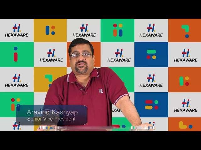 Hexaware Career: Leader Speak - Aravind Kashyap