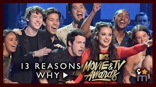 13 REASONS WHY Cast Reunites After Season 2 News at MTV Movie/TV Awards Katherine Langford Interview