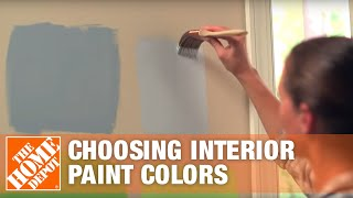 Choosing Interior Paint Colors | Room Color Ideas | The Home Depot