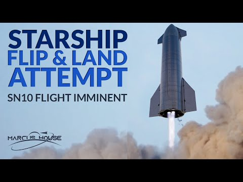 "SpaceX Starship Updates - SN10 Flight Imminent, Mars 2020 Footage & Cygnus ""SS Katherine Johnson"""