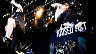 Raised fist - Out