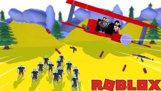 CALL IN THE JET FIGHTERS - FULLY UPGRADED AVIATOR - Roblox TOWER BATTLES Gaming-Abenteuer