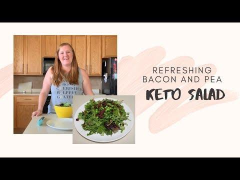 balsamic cashew pea salad