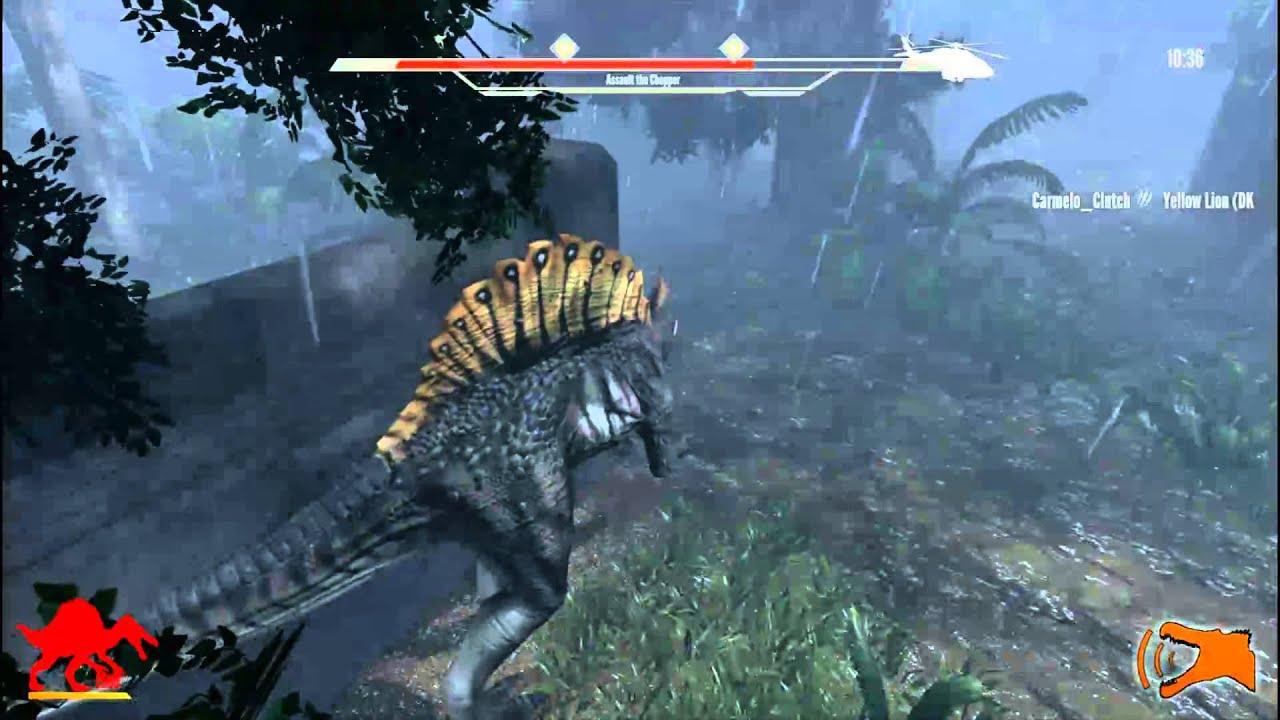 Carnage wallpaper hd - Primal Carnage Spinosaurus Gameplay Youtube