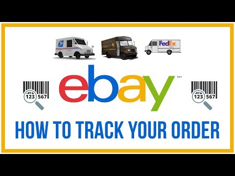 How To Track An Order On Ebay Any Carrier Youtube