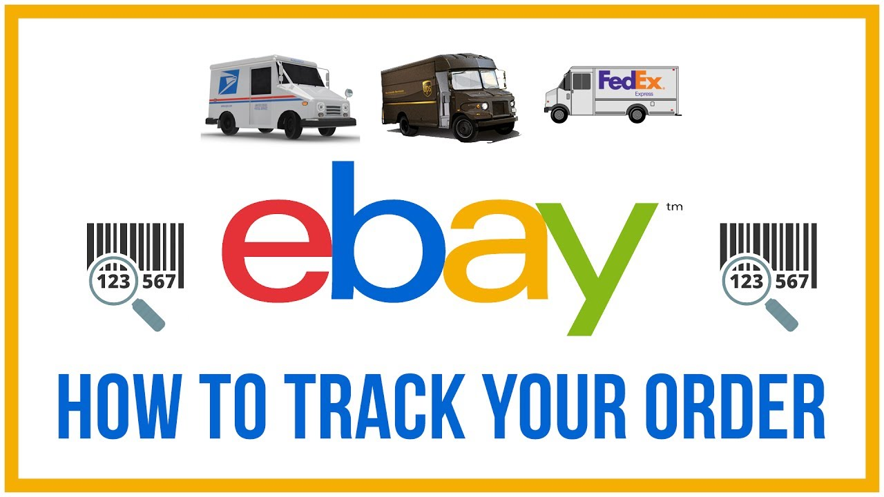How To Track An Order On eBay - ANY CARRIER