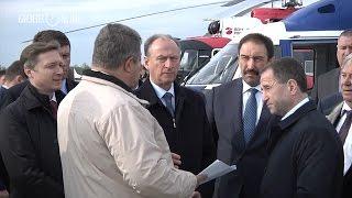 Бабич і Патрушев в супроводі Песошина відвідали Казанський авіаційний завод