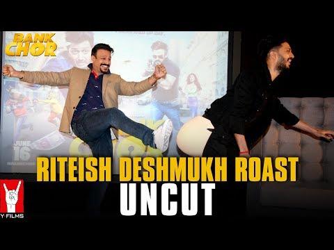 Riteish Deshmukh Roast - Uncut   Lag Gayi Tashreef   Bank Chor