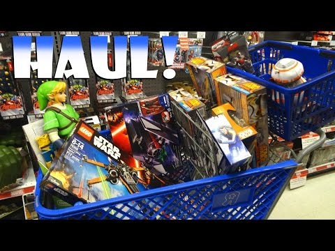BIGGEST HAUL EVER! Force Friday, Pokemon, Funko, Action Figures, Blind Boxes +