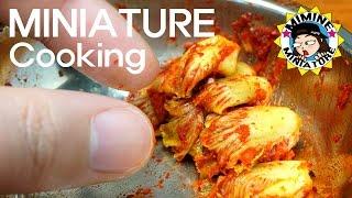 "[ENG Sub]Miniature - South Korea Traditional Food ""Kimchi"" / Mimine Miniature"