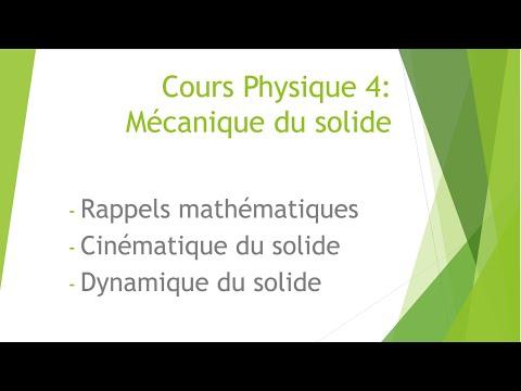 Physique 4 : Rappels Mathématiques