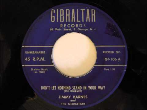 Jimmy Barnes and The Gibraltars- Don't Let Nothing Stand In Your Way
