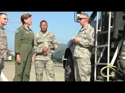 PACAF Commander Visits Misawa