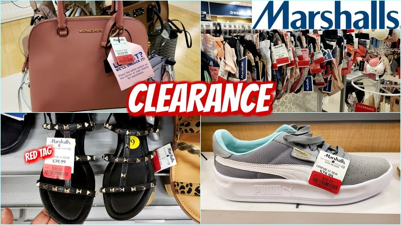 Marshalls RED TAG CLEARANCE * SHOP WITH