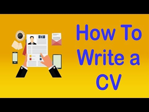 HOW TO WRITE A CV - Apps on Google Play