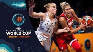 Belgium v USA - Highlights - FIBA Women's Basketball World Cup 2018