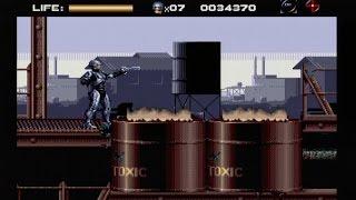 ROBOCOP vs THE TERMINATOR (MEGADRIVE - FULL GAME)