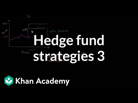 Hedge fund strategies: Merger arbitrage 1 | Finance & Capital Markets | Khan Academy