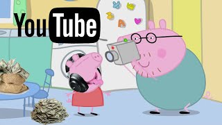 Peppa Pig Becomes A YouTuber!