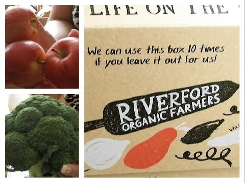 Riverford  Organic Farmers my delivery in UK