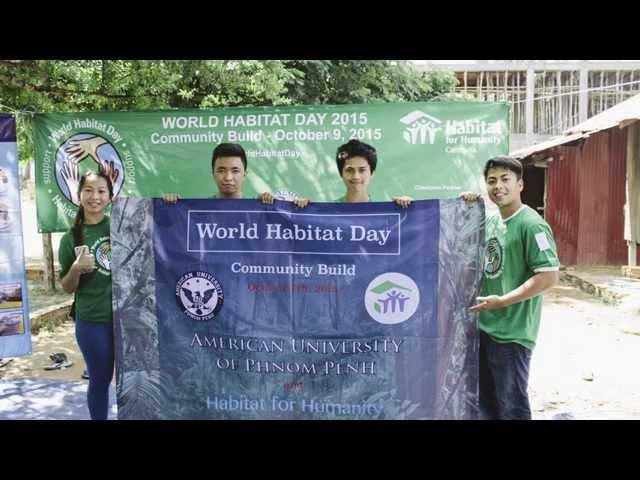 AUPP helping on World Habitat Day
