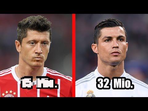 Die 5 bestbezahlten Fussballer der Bundesliga !