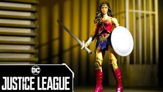 Liga de la Justicia - Stop Motion Mujer Maravilla   Liga de la Justicia   Mattel Action!