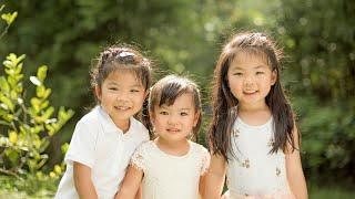 BTS: Eunice's outdoor family portrait session