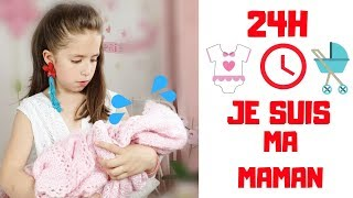 24H DANS LA PEAU DE  MA MAMAN - SKETCH // KIARA'S TOYS 🌷