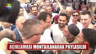 """İmamoğlu esnafa tokat attı"" iddiası"