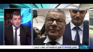 """هنا الجزائر: مصدر بالرئاسة: """"لا تغيير حكومي في الوقت الراهن"""" !"""