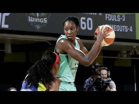 Tina Charles Erupts With 34 Points and 10 Rebounds In Liberty Thriller