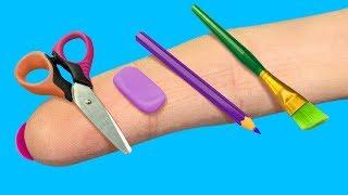 Школьные принадлежности для Барби – 14 идей!