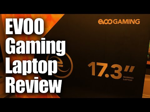 EVOO Gaming Laptop Review • 17 inch RTX 2060 laptop from Walmart • Best Deal of 2019? Tongfang GK7