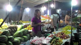 19 Monywa Arrival and Night Market, Myanmar (Burma)